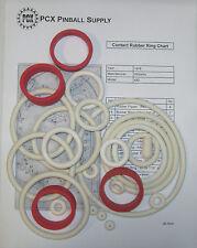 1978 Williams Contact Pinball Machine Rubber Ring Kit