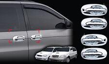 Chrome Door Handle Cover Trim Molding for 98-05 Kia Sedona Carnival +Tracking