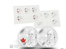 2012 Isaac Brock 25 cent Circulation 10-pack coin 1812 series coloured quarter