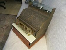 Antique American Cash Register Co Solid 100lbs Brass Working Condition Model 4