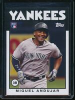 2018 Topps Throwback Thursday Miguel Andujar RC Card #205 Rookie SP
