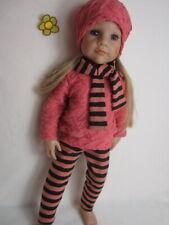 Boneka Miniature Bügelbrett für Puppenkleidung Größe M