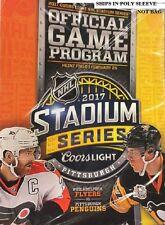 2017 STADIUM SERIES GAME PROGRAM NHL PHILADELPHIA FLYERS VS. PITTSBURGH PENGUINS