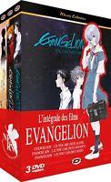 ★ Evangelion ★ Intégrale des Films - Edition Gold (3 DVD)