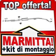 Scarico FIAT GRANDE PUNTO (199) ALFA ROMEO MITO 1.4 16V Marmitta CDB