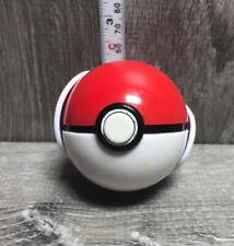 """Pokemon Red Pop 'n Battle Poke Ball 2 1/4""""  loose Nintendo Jakks 2011"""