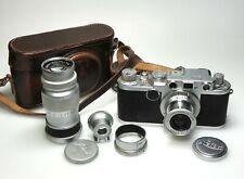 Leica If + Elmar 5cm F3.5 + Elmar 9cm F4 + Leitz 90m Finder