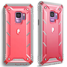 For Samsung Galaxy S9 Case [360° Protective] Premium Shockproof Cover Pink