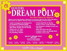 Quilters Dream Poly Select Batting-Mid Loft Twin Size