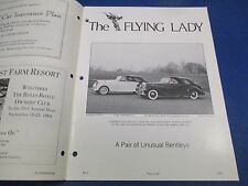 The Flying Lady Rolls-Royce Magazine May-June 1984, 1948, 1949 Mark VI's, Young