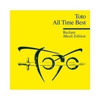 TOTO - ALL TIME BEST (RECLAM MUSIK EDITION 27)  CD  16 TRACKS ROCK & POP  NEU