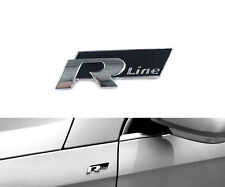 VW R Line Emblem Volkswagen Decal 3D Sticker Car Styling Logo Trunk Cover RLine