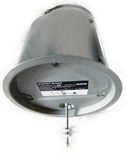 Abgasrohr Zugbegrenzer Zugregler Z6 verzinkt f. Typ ZRM Ø 130/150/160 mm (20301)