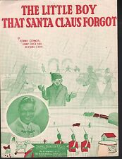 The Little Boy That Santa Claus Forgot 1937 Nat King Cole Christmas Sheet Music