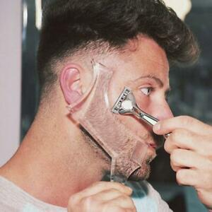 Beard Styling Shaping Tool Template Shaper Stencil Symmetry Trimming Beard Comb