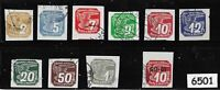Used stamp set / 1939 Newspaper set / Third Reich Germany Occupation during WWII