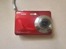 Kodak EasyShare C180 10.2MP Digital Camera - Red 041 Tested Works