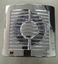 Vectaire AS10CR PLUS CHROME Extractor Fan Bathroom Kitchen Shower Wall Ceiling