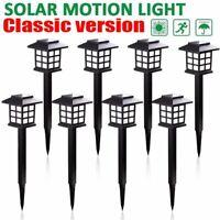 8Pack Solar Power Pathway Light Outdoor Garden Lamp Landscape Lawn Walkway Path