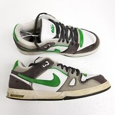 8a96841cc30530 Nike Zoom Oncore 6.0 Mens Sneakers 366630 109 Skateboard Shoes Sz 11 White  Green