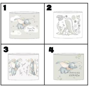 """DUMBO nursery Ceiling Light Shade Lampshade 8""""/20cm in 4 DESIGNS FREE POST"""