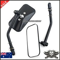 NEW Classic Harley Motorcycle Rearview Mirrors 8mm Thread Rear Side View Mirror