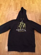 Quality Monster Energy Black Hoody Size 152cm(11-12years)