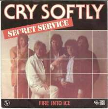 "Secret Service Cry Softly 7"" Single Vinyl Schallplatte 9156"