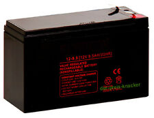 BATTERIE AGM AKKU 12V-9,5AH 6,3mm (Maß wie 7,0 / 7,2Ah)