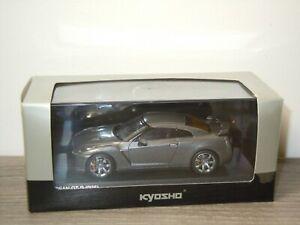 Nissan GT-R R35 2008 RHD - Kyosho 1:43 in Box *48687