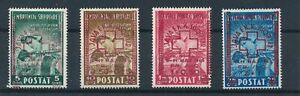 [30149] Albania 1945 Good set Very Fine MH stamps