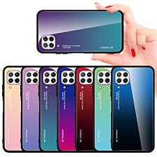 COVER per Samsung Galaxy A42 5G ORIGINALE Gradient Glass RETRO VETRO TEMPERATO