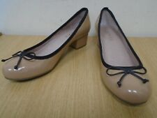 Jones Bootmaker Ladies Bramley Patent Court Shoes Size UK 4 / EU 37