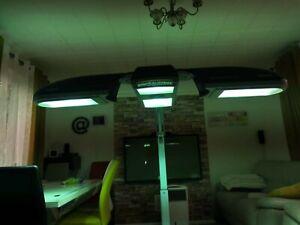 2100 watt philips sunmobile HB971 portable tanner sunbed solarium
