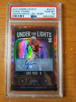 2020 Panini Legacy Under The Lights Chase Young Ruby AUTO /35 SSP PSA 10📈DEFROY