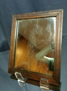 CHARMING! Early- to Mid- 19th C. Looking Glass Silvered Mirror Framed Antique
