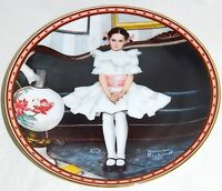Sitting Pretty by Norman Rockwell - 1986 Knowles Collector's Plate