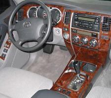 TOYOTA 4RUNNER 4 RUNNER SR5 2WD 4WD INTERIOR WOOD DASH TRIM KIT SET 03 2004 2005