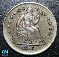 1856 P Seated Half Dime --  MAKE US AN OFFER!  #P10015