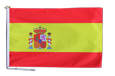 More details for spain state flag with rope and toggle - various sizes
