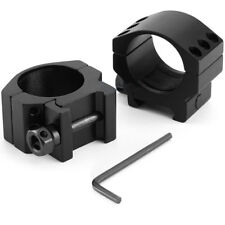 1 Pair Tactical Low Profile 30mm Rifle Scope Rings Weaver Picatinny Rail Mount