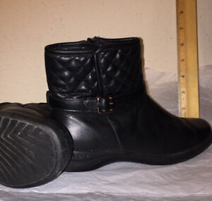 Women's Leather Shoes Lot - Loafers -  Booties - Western Sz 7