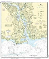 NOAA Chart Connecticut River Long lsland Sound to Deep River 22nd Ed. 12375