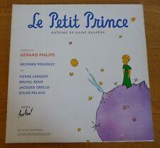 le PETIT PRINCE interprété par Gérard PHILIPE (33 tours)
