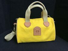Ladies Cross Canvas Company Yellow Hand Bag Purse