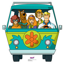 MYSTERY MACHINE Scooby-Doo Mystery Inc CARDBOARD CUTOUT Standup Standee Poster