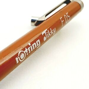 Rotring Tikky F 0.5 mechanical pencil 1980's vintage