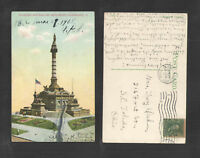 1908 SOLDIERS AND SAILORS MONUMENT CLEVELAND OHIO POSTCARD