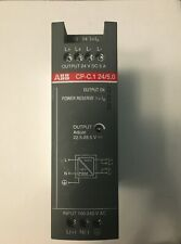 ABB, CP-C.1 DIN Rail Panel Mount Power Supply, 24V dc Output Voltage, 5A Output