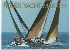 Rolex Yacht-Master 1992 LIBRETTO BROCHURE 16628 68623 69628 Yacht-Master OEM